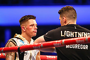 Boxers enter the SSE Hydro Glasgow to contest the Vacant IBF Youth Bantamweight Championship SSE Hydro, Glasgow, Scotland on 23 June 2018. Picture by Colin Poultney.