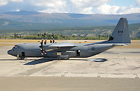 RCAF CC-130J Hercules in Whitehorse, Yukon