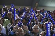DESCRIZIONE : Cremona Lega A 2014-2015 Vanoli Cremona ENEL Brindisi<br /> GIOCATORE : Tifosi Supporters<br /> SQUADRA : Vanoli Cremona<br /> EVENTO : Campionato Lega A 2014-2015<br /> GARA : Vanoli Cremona ENEL Brindisi<br /> DATA : 16/11/2014<br /> CATEGORIA :  Tifosi Supporters<br /> SPORT : Pallacanestro<br /> AUTORE : Agenzia Ciamillo-Castoria/F.Zovadelli<br /> GALLERIA : Lega Basket A 2014-2015<br /> FOTONOTIZIA : Cremona Campionato Italiano Lega A 2014-15 Vanoli Cremona ENEL Brindisi<br /> PREDEFINITA : <br /> F Zovadelli/Ciamillo