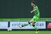 Forest Green Rovers James Morton(15)  during the EFL Trophy match between Forest Green Rovers and U21 Southampton at the New Lawn, Forest Green, United Kingdom on 3 September 2019.