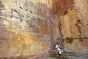 Musician entertaining in Jodhpur Fort