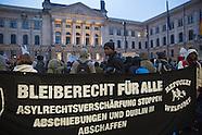pro asylum protest, Berlin