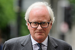 © Licensed to London News Pictures. 03/07/2017. London, UK. Former group chief executive of Barclays JOHN VARLEY arrives at Westminster Magistrates Court in London where he is charged with conspiracy to commit fraud. Barclays executives John Varley, Roger Jenkins, Thomas Kalaris and Richard Boath were charged by the Serious Fraud Office following events that took place at the height of the financial crisis, when Barclays avoided a taxpayer bailout by raising £11. 8bn in emergency funds from a number of major investors, including Qatar. Photo credit: Ben Cawthra/LNP