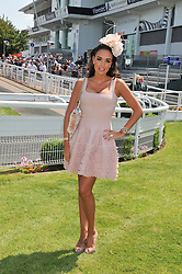 TAMARA ECCLESTONE at the Investec Derby at Epsom Racecourse, Epsom Downs, Surrey on 4th June 2011.