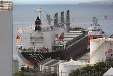 New Plymouth-Freighter Lake Triview impounded at Port Taranaki