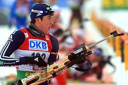 Leif Nordgren (USA) at Men 20 km Individual at E.ON Ruhrgas IBU World Cup Biathlon in Hochfilzen (replacement Pokljuka), on December 18, 2008, in Hochfilzen, Austria. (Photo by Vid Ponikvar / Sportida)