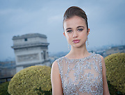 EXCLUSIVE LADY AMELIA WINDSOR- Backstage Le Bal - Raphael Palace in Paris <br /> A very beautiful (and rather naughty) Royal: Her extraordinary looks have landed her on the cover of Tatler. And Amelia Windsor's giving Harry a run for his money in the party stakes  <br /> <br /> She dances on a yacht, lithe and bronzed in a neon bikini, her long hair gleaming in the sun. She's the picture of rebellion in a nightclub, sitting astride a female friend, her slim legs in revealing floral shorts and her midriff on show under her black crop top.<br /> And, again and again, pictures from her social media accounts show her pouting over cocktails and cigarettes.<br /> So far, so thrillingly wild. But it wasn't this side of Lady Amelia Windsor that was on show this week. On the cover of the latest edition of Tatler magazine, the granddaughter to the Queen's cousin, the Duke of Kent, is portrayed as more demure English rose than party girl. Indeed, the magazine even dubs her 'the most beautiful member of the Royal Family'.<br /> <br /> <br /> While you would be forgiven for not being instantly familiar with Lady Amelia, with her full lips, glossy mane and molten brown eyes, she's tipped as the one to watch among the young royals. And although the 20-year-old student may have a delicate baby-faced beauty, she's certainly not averse to living it up.<br /> Indeed, other pictures from her publicly available social media accounts show her dancing at Notting Hill Carnival (that bronzed midriff on display), posing at Glastonbury Festival and smoking in the bath. She's outspoken about her passion for Bloody Mary cocktails. And her apparent motto, as inscribed on a photo in her Instagram account? 'Go hard or go home.' In other words, party like you're Prince Harry.<br /> But Lady Amelia is no mere vacuous socialite in the making. On the contrary. She is vocal about her love for Latin, saying she is 'crazy' about it after studying it for A-level and is rather bookish in nature. She's currently reading French and Italian at Edinburgh University. I