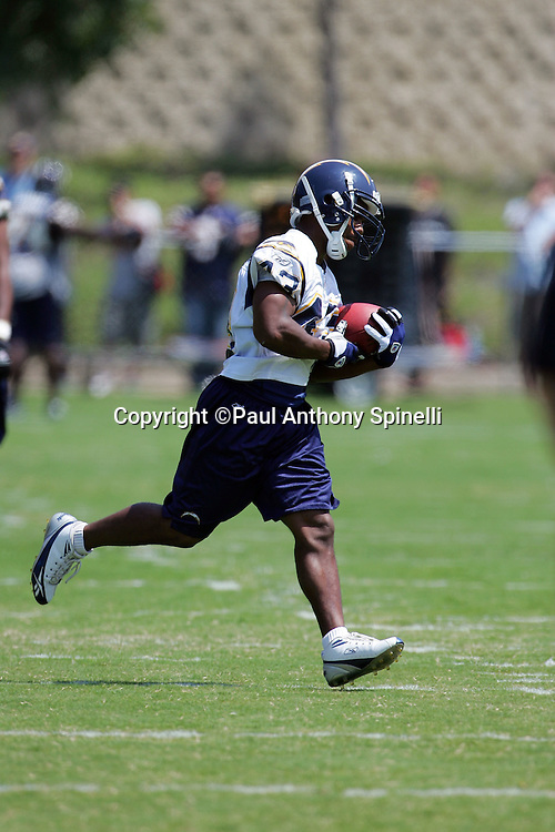 SAN DIEGO - JUNE 10:  Running back Darren Sproles #43 of the San Diego Chargers works out during mini camp at Chargers Park on June 10, 2006 in San Diego, California. ©Paul Anthony Spinelli *** Local Caption *** Darren Sproles