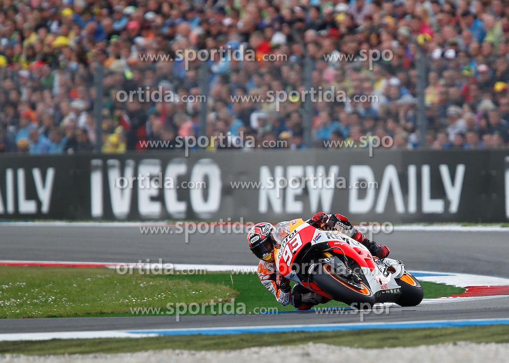 28.06.2014, TT Circuit, Assen, NED, MotoGP, Assen, im Bild 93 Marc Marquez // during the MotoGP Iveco TT Assen at the TT Circuit in Assen, Netherlands on 2014/06/28. EXPA Pictures &copy; 2014, PhotoCredit: EXPA/ Eibner-Pressefoto/ FOTO-SPO_AG<br /> <br /> *****ATTENTION - OUT of GER*****