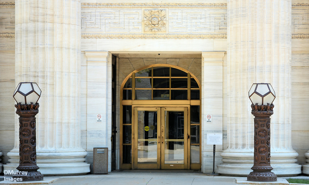Entrance, NYS Education Building, Albany, New York