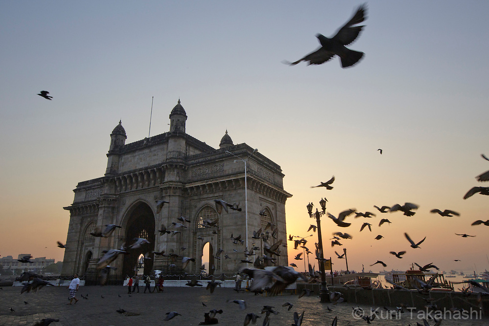 Gateway of India, Mumbai, India on Dec 17, 2013.<br /> (Photo by Kuni Takahashi)