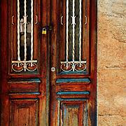 Door in Petropolis, Brazil