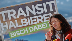 "25.01.2018, Grünwalderhof, Patsch, AUT, Tirol-Landtagswahl: Wahlkampfauftakt der Tiroler Grünen, ""Bist du dabei, der grüne Start in den Landtagswahlkampf"", im Bild Ingrid Felipe (Landeshauptfrau Stv.) // during the election campaign of the Tyrolean greens party Tyrol at the Grünwalderhof in Patsch, Austria on 2018/01/25. EXPA Pictures © 2018, PhotoCredit: EXPA/ Johann Groder"