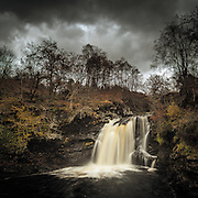 The falls of Falloch, Glen Falloch.