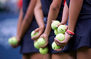 Ball Girls at 'Arthur Ashe Kids Day' before the 2006 U.S. Open at the USTA National Tennis Center in New York August 26, 2006. The U.S. Open starts on August 28. .