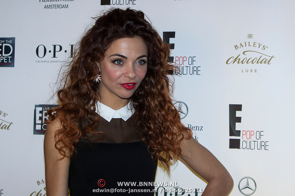 NLD/Amsterdam/20140124 - inloop E-entertainment Red Carpet party, Georgina Verbaan