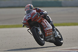 February 7, 2019 - Sepang, Malaysia - Mission Winnow Ducati's rider Andrea Dovizioso of Italy powers his bike during the second day of the 2019 MotoGP pre-season testing at Sepang International Circuit February 7, 2019. (Credit Image: © Zahim Mohd/NurPhoto via ZUMA Press)