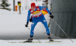 16.12.2011, Casino Arena, Seefeld, AUT, FIS Nordische Kombination, Team Sprint 2* 7.5 km, im Bild Tomas Slavik (CZE) // Tomas Slavik of Czech Republic during Team Sprint 2* 7.5 km the team competition at FIS Nordic Combined World Cup in Sefeld, Austria on 20111211. EXPA Pictures © 2011, PhotoCredit: EXPA/ P.Rinderer