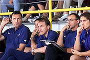 Dino Meneghin, Bogdan Tanjevic, Giovanni Piccin, Matteo Boniciolli