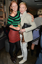 OLIVIA INGE and HENRY CONWAY at the 3rd birthday party for Spectator Life magazine hosted by Andrew Neil and Olivia Cole held at the Belgraves Hotel, 20 Chesham Place, London on 31st March 2015.