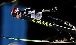 Jernej Damjan of Slovenia competes during Qualification round of the FIS Ski Jumping World Cup event of the 58th Four Hills ski jumping tournament, on January 5, 2010 in Bischofshofen, Austria. (Photo by Vid Ponikvar / Sportida)