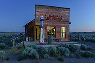 USA, Oregon, Pacific Northwest, Central, Fort Rock, Homstead Museum, Western Village,