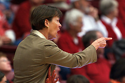 Nov 13, 2011; Stanford CA, USA;  Stanford Cardinal head coach Tara VanDerveer on the sidelines against the Gonzaga Bulldogs during the first half at Maples Pavilion.  Mandatory Credit: Jason O. Watson-US PRESSWIRE