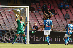 May 6, 2018 - Naples, Italy - Lorenzo De Silvestri of Torino FC scores the 2-2 goal during the serie A match between SSC Napoli and Torino FC at Stadio San Paolo on May 6, 2018 in Naples, Italy. (Credit Image: © Paolo Manzo/NurPhoto via ZUMA Press)