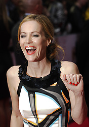 US actress Leslie Mann arrives for the Premiere of her latest film, 'The Other Woman' in  London, United Kingdom. Wednesday, 2nd April 2014. Picture by Max Nash / i-Images