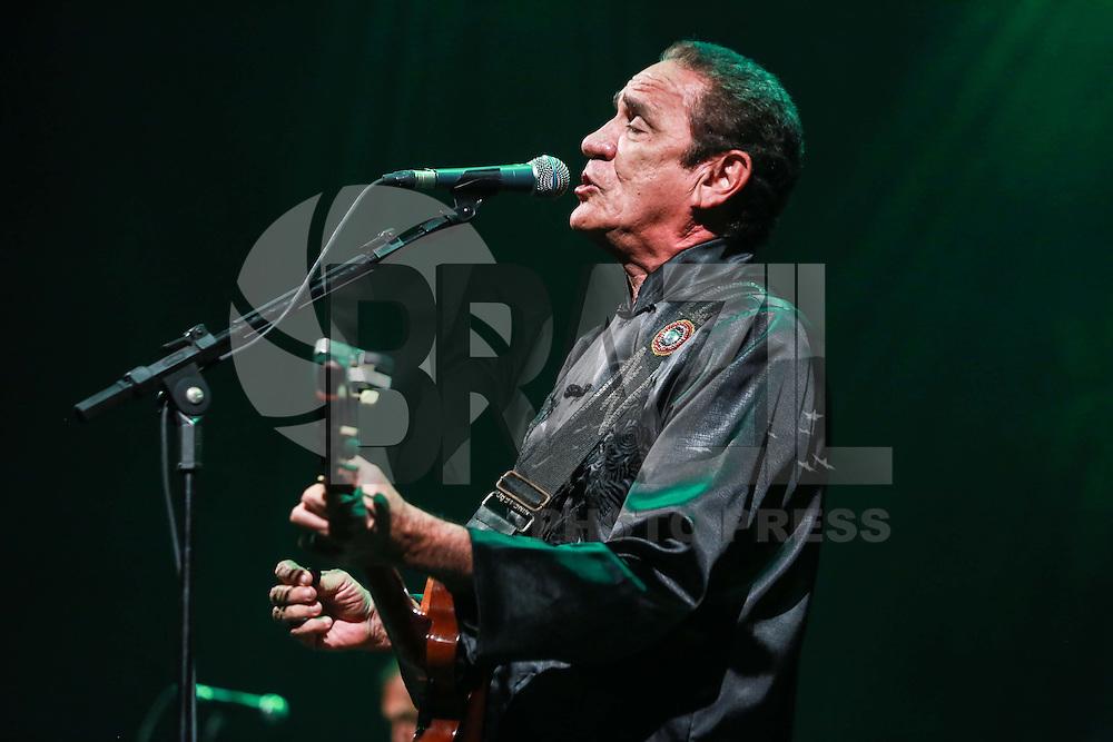 SÃO PAULO,SP, 18.10.2015 - SHOW-SP - O cantor Zé Ramalho durante apresentação no Tom Brasil na região sul de São Paulo na noite de ontem, 17. (Foto: William Volcov/Brazil Photo Press)
