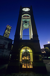 Louis and Annie Friedman Clock Tower in downtown Houston, Texas.
