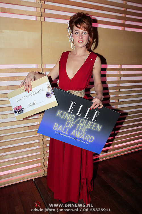 NLD/Amstrdam/20130122 - Elle Style Award  2013, Eva Bartels wint de Queen of the Ball Award