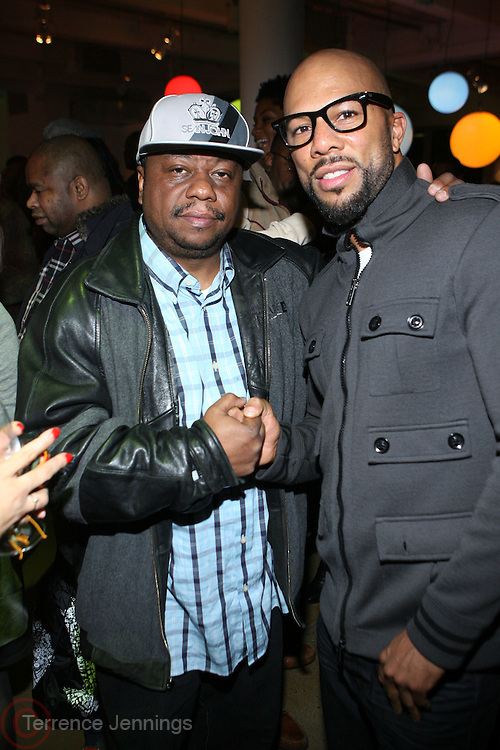 l to r: Special K and Common at the Common Celebration for the Capsule Line Launch with Softwear by Microsoft at Skylight Studios on December 3, 2008 in New York City..Microsoft celebrates the launch of a limited-edition capsule collection of SOFTWEAR by Microsoft graphic tees designed by Common. The t-shirt  designs. inspired by the 1980's when both Microsoft and and Hip Hop really came of age, include iconography that depicts shared principles of the technology company and the Hip Hop Star.