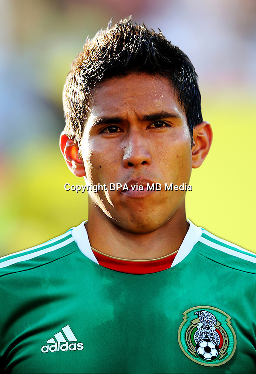 Football Fifa Brazil 2014 World Cup / <br /> Mexico National Team - <br /> Juan Carlos Valenzuela of Mexico