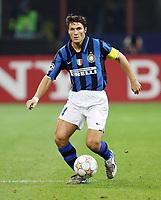 "Milano 02/10/2007 Stadio ""Giuseppe Meazza""<br /> Champions League<br /> Group G - Matchday 2 -Inter Psv (2-0)<br /> Javier Zanetti (Inter)<br /> Foto Luca Pagliaricci Insidefoto"