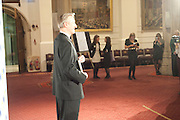JULIAN BARNES, Man Booker prize 2011. Guildhall. London. 18 October 2011. <br /> <br />  , -DO NOT ARCHIVE-© Copyright Photograph by Dafydd Jones. 248 Clapham Rd. London SW9 0PZ. Tel 0207 820 0771. www.dafjones.com.