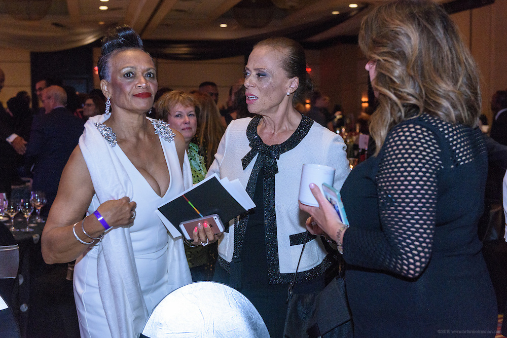 Photos after the dinner presentation at the fourth annual Muhammad Ali Humanitarian Awards Saturday, Sept. 17, 2016 at the Marriott Hotel in Louisville, Ky. (Photo by Brian Bohannon for the Muhammad Ali Center)
