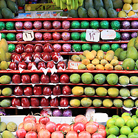 Fruit stand at outdoors market - Alexandria, Egypt