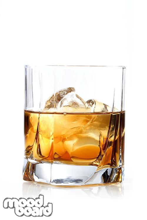 Glass of whisky - studio shot