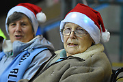 Coventry City fans and supporters during the EFL Sky Bet League 2 match between Coventry City and Wycombe Wanderers at the Ricoh Arena, Coventry, England on 22 December 2017. Photo by Alan Franklin.