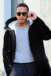 Lewis Hamilton outside of the fashion show at Armani Theatre during the Milan Fashion Week Collection 2018 on September 22, 2017 in Milan, Italy. Photo by Fotogramma/ANDZ/ABACA PRESS.COM