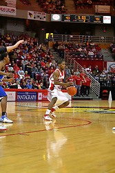 "06 January 2007: Keith ""Boo"" Richardson. The Sycamores of Indiana State University topped the Redbirds home 54 - 50 inside Redbird Arena in Normal Illinois on the campus of Illinois State University.<br />"