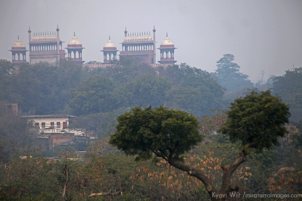 Asia, India, Agra. View of the Taj Mahal from The Oberoi Amarvilas.