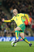Norwich City forward Steven Naismith during the EFL Sky Bet Championship match between Norwich City and Brighton and Hove Albion at Carrow Road, Norwich, England on 21 April 2017.