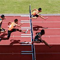 B Div Boys 110m Hurdles