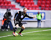 KALMAR, SWEDEN - APRIL 18: Curtis Edwards of Ostersunds FK during the Allsvenskan match between Kalmar FF and Ostersunds FK at Guldfageln Arena on April 18, 2018 in Kalmar, Sweden. Photo by Jonas Gustafsson/Ombrello ***BETALBILD***