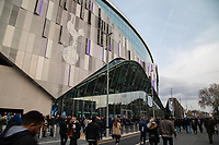 Football - 2018 / 2019 UEFA Champions League - Quarter Final , First Leg: Tottenham Hotspur vs. Manchester City<br /> <br /> Fans make their way along Tottenham High Road in front of the stadium ahead of kick off at White Hart Lane Stadium.<br /> <br /> COLORSPORT/DANIEL BEARHAM