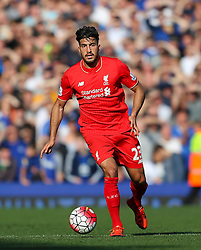 Emre Can of Liverpool   - Mandatory byline: Matt McNulty/JMP - 07966 386802 - 04/10/2015 - FOOTBALL - Goodison Park - Liverpool, England - Everton  v Liverpool - Barclays Premier League