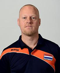 13-05-2014 NED: Selectie Nederlands volleybal team mannen, Arnhem<br /> Op Papendal werd het Nederlands team volleybal seizoen 2014-2015 gepresenteerd / Han Jager