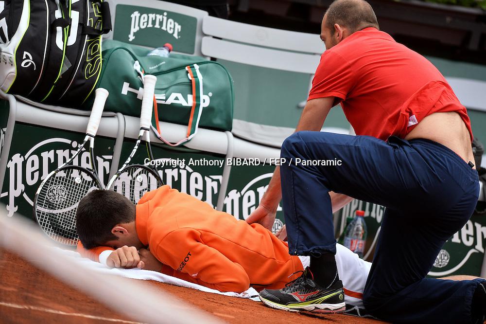 Novak Djokovic (srb) vs Gilles Muller (lux) - 2eme tour SH